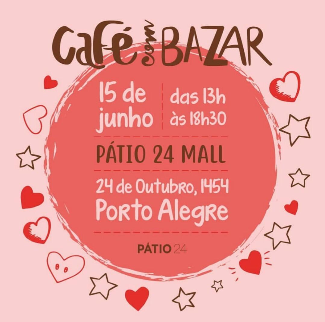 Café com Bazar no Pátio 24
